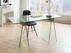 bureau bois foncé mobilier de bureau pas cher bureau informatique fauteuil