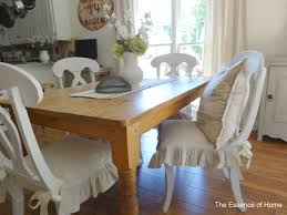 ruffled chair covers the essence of home ruffled chair covers