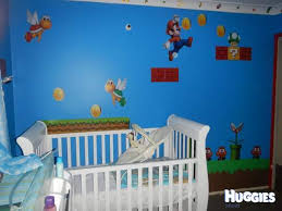 Super Mario Bedroom Decor My Little Super Mario Inspiration For Kids Bedroom Decor At