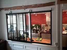 fenetre separation cuisine rideau separation cuisine salon get green design de maison