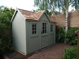 the posh shed company painted in farrow and ball french grey