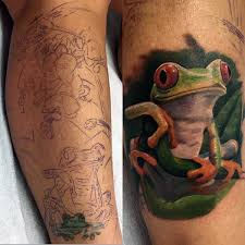 90 frog tattoos for amphibian design ideas