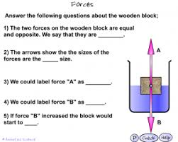 ks3 forces and pressure u2013 animated science