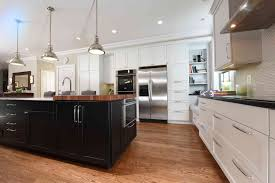 beauty white and dark kitchen cabinets fashion trends facelift how many kitchen design trends can you spot this photo