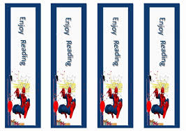 spiderman bookmarks u2013 birthday printable