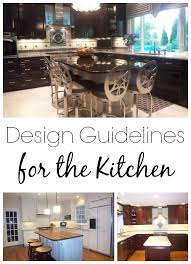 Kitchen Design Elements Kitchen Concepts Design Guidelines For The Kitchen Cincinnati