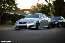 lexus isf wide tires how do you upgrade factory forged wheels speedhunters