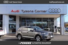 audi tysons corner service audi q7 at tysons penske automotive dc serving washington dc va
