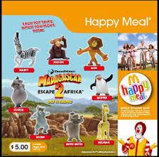 mcdonalds madagascar 2 toys toy alert