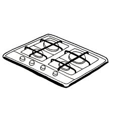 gaz electrique cuisine plaque cuisson gaz electrique plaque gaz plaque gaz dessus
