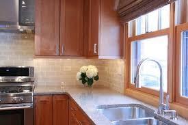 kitchen backsplash with light brown cabinets tiles kitchen design kitchen renovation brown cabinets