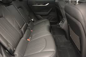 maserati levante interior back seat 2017 maserati levante 350hp stock m1679 for sale near greenwich