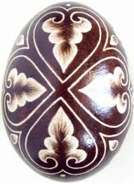 Decorating Easter Eggs With Onion Skins by