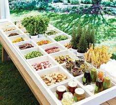 Wedding Reception Buffet Menu Ideas by 99 Best Big Party Dinner Feast Images On Pinterest Marriage