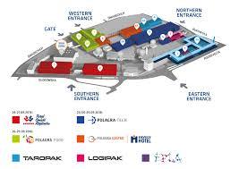 plan of exhibition of polagra fair