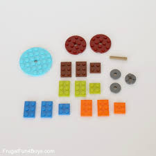 how to build a fidget spinner with lego bricks