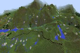 Minecraft America Map by Ordnance Survey Intern Plonks Houses Trees Rivers And Roads On