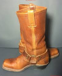 womens motorcycle boots nz frye 77300 golden leather harness motorcycle 12r s