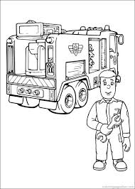 picture fireman colouring pages free printable coloring pages
