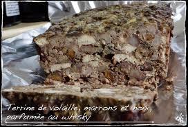 cuisiner foie de volaille terrine ou pâté de foie de volaille et poulet aux marrons et aux