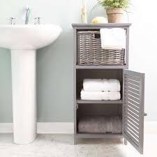 Bathrooms With Storage Charming Ideas Bathroom Storage Units Creative Decoration Grey