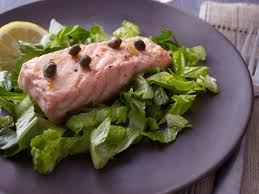 poached salmon with caper butter sauce recipe marcia kiesel