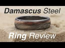 wedding ring reviews damascus steel wedding ring from steven jacob review