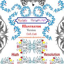 free vector ornaments corel draw 123freevectors