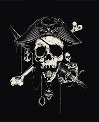 pirate jolly roger skull on behance skull tastic