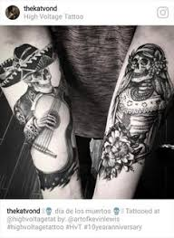 skeleton couple tattoo google search couple tattoo pinterest