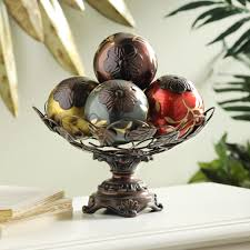 vine glass orb bowl dining room table console tables and consoles