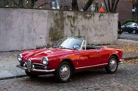 alfa romeo giulietta classic just listed 1962 alfa romeo giulietta spider veloce automobile