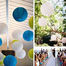 45pcs lot diameter10cm paper lantern wedding decoration
