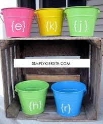 easter buckets easter pails simplykierste