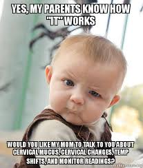 How About Yes Meme - yes my parents know how it works would you like my mom to talk