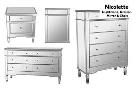 Mirrored Nightstand Sale Mirrored Nightstand Dresser Chest