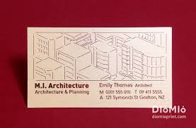 professional architecture designer business cards diomioprint