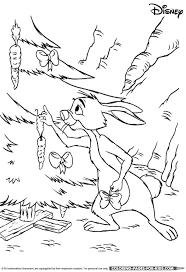 disney christmas coloring winnie pooh rabbit christmas