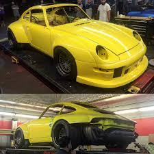 New Rauh Welt Begriff Porsche 911 Being Sculpted In Los Angeles