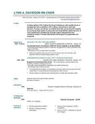 Profile In Resume Nursing Resume Templates Haadyaooverbayresort Com