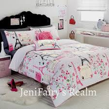 Paris Bedroom For Girls Paris Bed Room For Teenagers Paris Stylish Eiffel Tower White