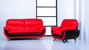red and black living room ideas black leather sofas polished oak