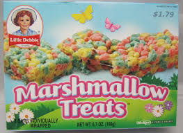 little debbie christmas marshmallow treats for winter xmas season