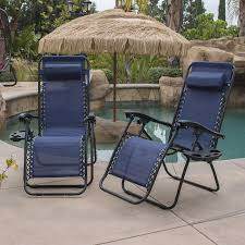 Patio Lounge Furniture by Amazon Com Belleze Zero Gravity Chair Recliner Patio Pool Chair