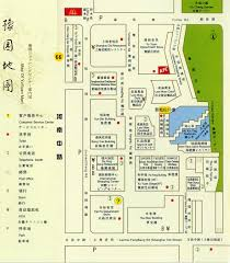 Map Of Shanghai Yuyuan Garden Inc Map Goshopshanghai Com