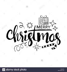 merry christmas modern merry christmas lettering modern vector hand drawn calligraphy