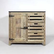 les diff駻ents types de cuisine ce meuble cuisine bois recyclé poignées style frigo comprend