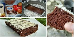 cara membuat brownies kukus simple resep membuat kue brownies kukus serba 3 sdm yang simple praktis