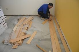 design of installing wood floors on concrete prepping concrete