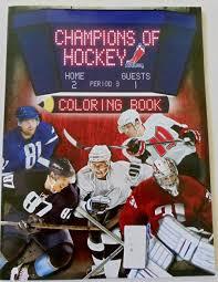 champions of hockey coloring book nhlpa nhlpa 0062255078654